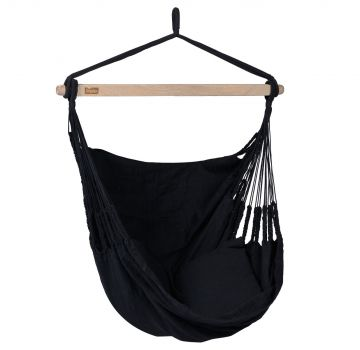 Poltrona sospesa singola 'Comfort' Black
