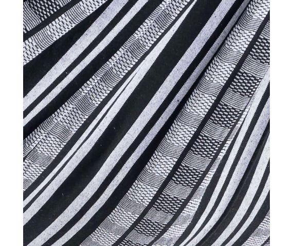 Coperta 'Comfort' Black White
