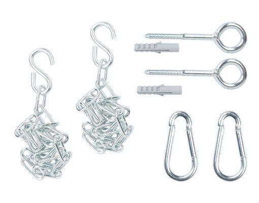 Fissaggi per amaca 'Complete' Metall